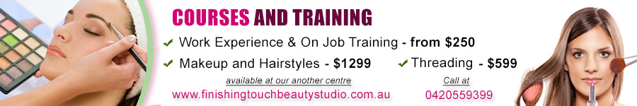 Training Courses Simran Beauty